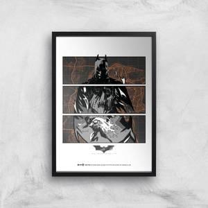 Póster Art Giclée Batman Begins