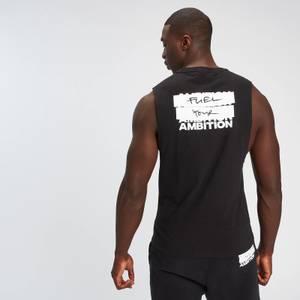 MP Men's Fuel Your Ambition Print Tank - Black