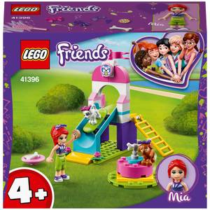 LEGO Friends: 4+ Puppy Playground Playset with Mia (41396)