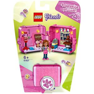 LEGO Friends: Olivia's Shopping Play Cube Playset (41407)