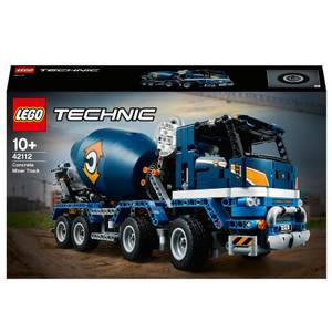 LEGO Technic: Concrete Mixer Truck Toy Construction Set (42112)