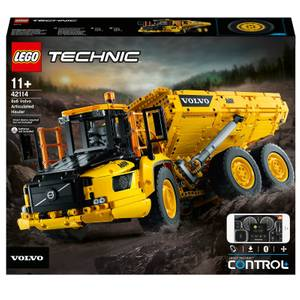 LEGO Technic: 6x6 Volvo Articulated Hauler RC Truck (42114)