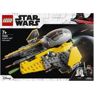 LEGO Star Wars: Anakin's Jedi Interceptor Toy (75281)