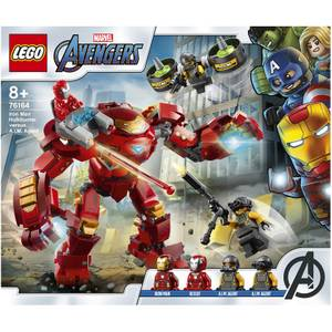 LEGO Marvel Iron Man Hulkbuster vs. A.I.M. Agent Toy (76164)