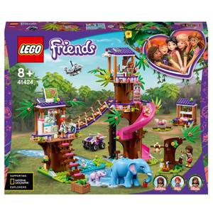 LEGO Friends: Jungle Rescue Base Treehouse Vet Set (41424)