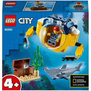 LEGO City: 4+ Ocean Mini-Submarine Deep Sea Set (60263)