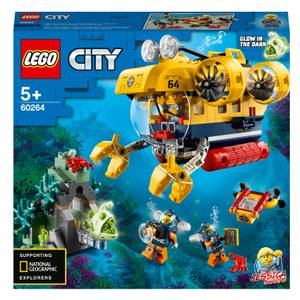 LEGO City: Ocean Exploration Submarine Deep Sea Set (60264)