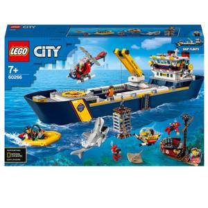 LEGO City: Ocean Exploration Ship Floating Toy Boat (60266)