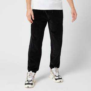 KENZO Men's Velvet Mix Sweatpants - Black