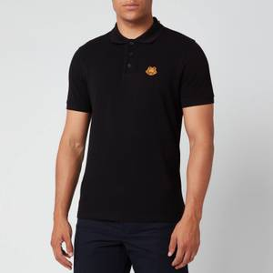 KENZO Men's Tiger Crest Polo Shirt - Black