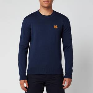 KENZO Men's Tiger Crest Classic Jumper - Navy Blue