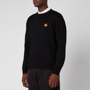 KENZO Men's Tiger Crest Classic Jumper - Black