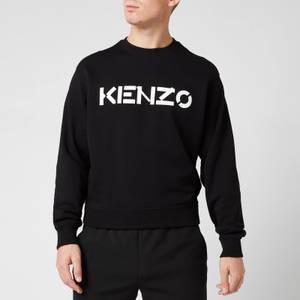 KENZO Men's Logo Classic Sweatshirt - Black