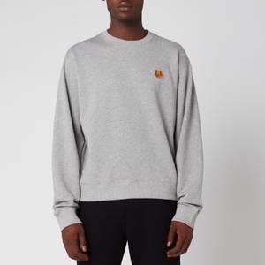 KENZO Men's Tiger Crest Sweatshirt - Pearl Grey
