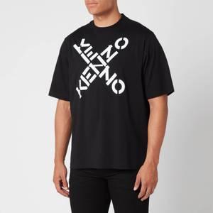 KENZO Men's Sport Oversized T-Shirt - Black