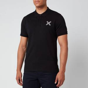 KENZO Men's Sport Polo Shirt - Black