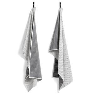 HAY Tea Towels - Dash Grid (Set of 2)