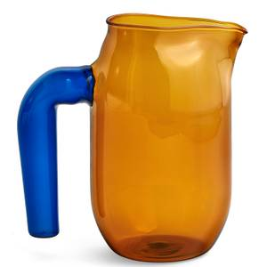 HAY Glass Jug - Amber - 950ml
