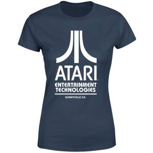Atari Navy Tee Women's T-Shirt - Navy