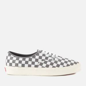 Vans Authentic Checkerboard Trainers - Black/White