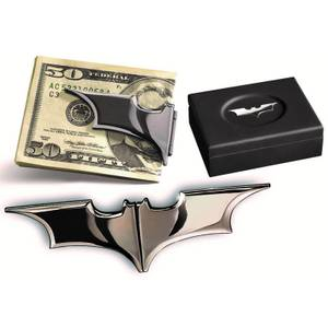 DC Comics Batarang Money Clip (Dark Chrome)