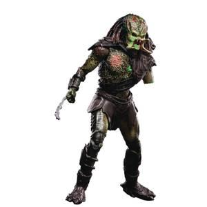 Hiya Toys Predators Dégâts de la bataille Figurine articulée à l'échelle 1/18 Berserker - Exclusivité PX
