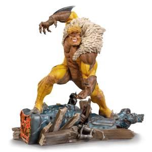 Statuette Sabretooth BDS Art Scale à l'échelle 1/10 Marvel Comics 21cm - Iron Studios