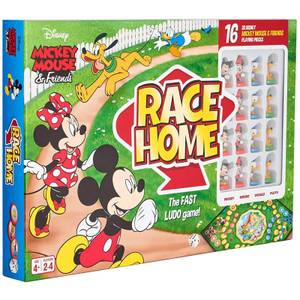 Disney Mickey & Friends Race Home Board Game