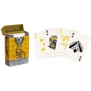 Harry Potter House  Spielkarten - Hufflepuff