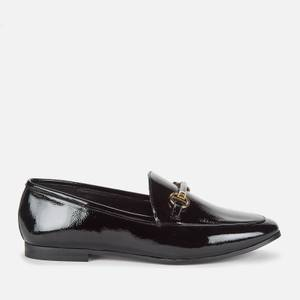 Dune Women's Guiltt 2 Patent Loafers - Black