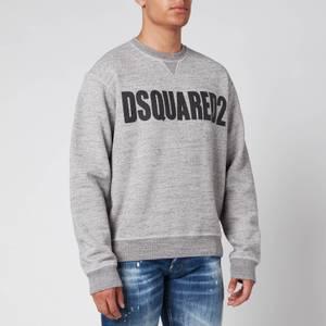 Dsquared2 Men's Cool Fit Logo Sweatshirt - Grey Melange/Black