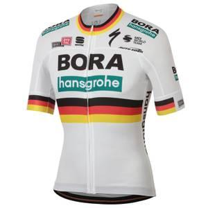 Sportful Bora Hansgrohe German Champion BodyFit Team Jersey - White