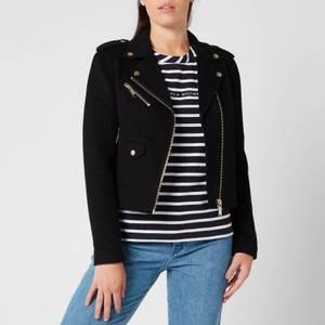 MICHAEL Michael Kors Women's Double Face Moto Jacket - Black