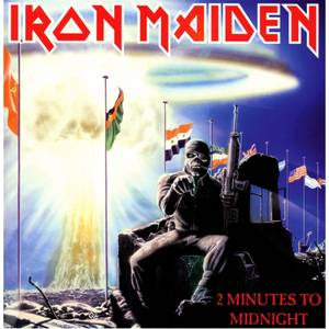 "Iron Maiden - 2 Minutes To Midnight 7"" Single"
