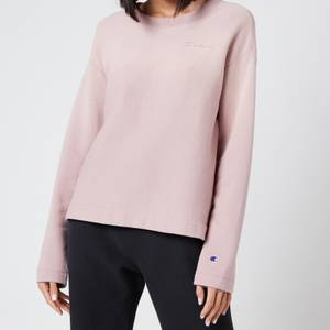 Champion Women's Crewneck Sweatshirt - Mauve