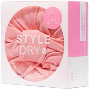StyleDry Turban Shower Cap - Cotton Candy