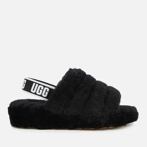 UGG Women's Fluff Yeah Slippers - Black