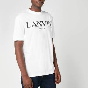 Lanvin Men's Chest Logo T-Shirt - White