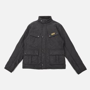 Barbour International Boys' Ariel Polar Quilt Jacket - Black
