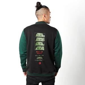 Varsity Jacket Tortues Ninja By The Slice - Noir / Vert
