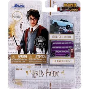 Jada Diecast Harry Potter Nano Hollywood Rides 2 Vehicle Set