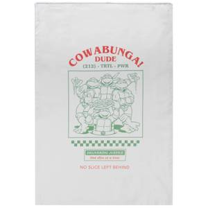 Teenage Mutant Ninja Turtles Cowabunga Cotton Tea Towel - Wit