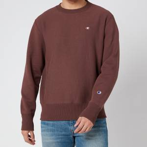 Champion Men's Reverse Weave Crewneck Sweatshirt - Burgundy