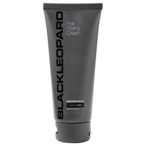 Black Leopard Hair Styling Cream Medium Hold 100ml