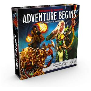 Dungeons And Dragons Adventure Begins Strategy Card Game