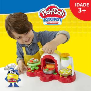Play-Doh Stamp N Top Pizza Playset