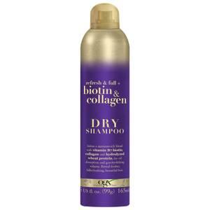 OGX Refresh and Full+ Biotin and Collagen Dry Shampoo 165ml