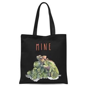 Snowtap Mine Tote Bag - Black