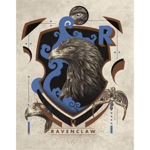 Harry Potter Art Print : Ravenclaw Crest