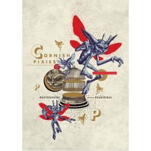 Harry Potter Premium Limited Edition Art Print : Pixies